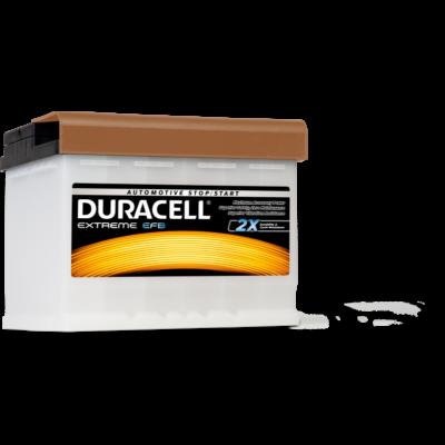 Duracell Extreme EFB 60 AH Jobb+  DE60EFB akkumulátor