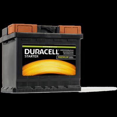 Duracell Starter 45 AH Jobb+  DS45H akkumulátor