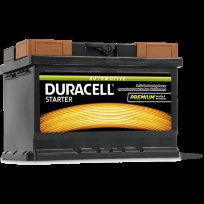 Duracell Starter 55 AH Jobb+  DS55 akkumulátor