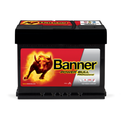 Banner Power Bull Professional 63 Ah jobb+ P6342
