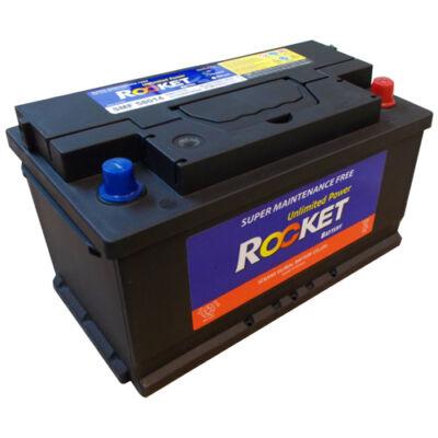Rocket 80 Ah Jobb+ SMF58014 akkumulátor