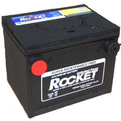 Rocket 66 AH bal+ oldalcsatlakozós SMF75-710 akkumulátor