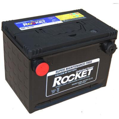 Rocket 74 AH bal+ oldalcsatlakozós SMF78-780 akkumulátor