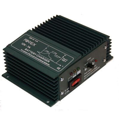 Forex T127 akkumulátor töltő 12V 7A