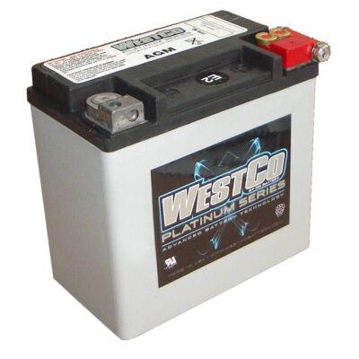 WestCo WCP14L 12 AH AGM Jobb+ (YTX14L-BS) akkumulátor