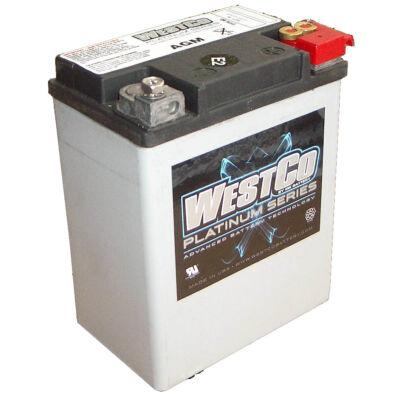 WestCo WCP15L 14 AH AGM Jobb+ (YTX14AHL-BS, YB14L-A/-B)