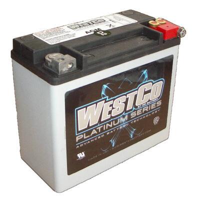 WestCo WCP20L 18 AH AGM Jobb+ (YTX20L-BS, YB18L-A)