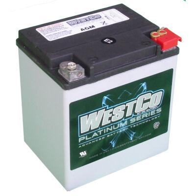WestCo WCP30 26 AH AGM Jobb+ (YTX30L-BS, YB30L-B) akkumulátor