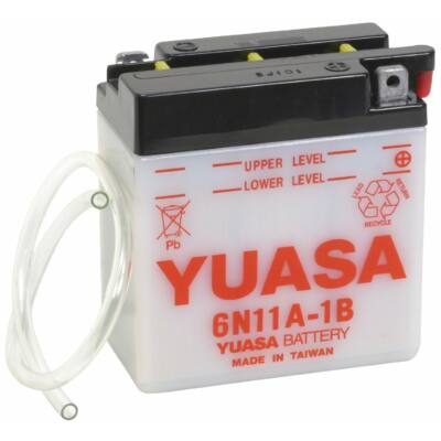 YUASA 6V 11 Ah 6N11A-1B jobb+ akkumulátor