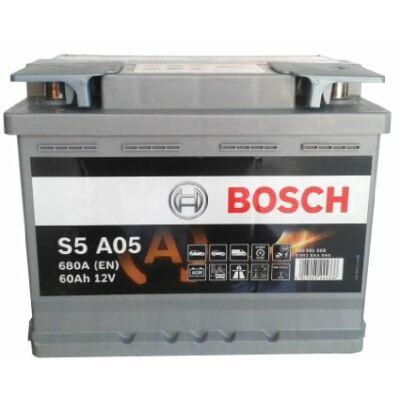 Bosch S5 60 Ah AGM 0092S5A050 akkumulátor