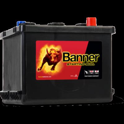 Banner Starting Bull 6V 77 Ah jobb+ 07718 akkumulátor