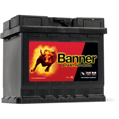 Banner Starting Bull 45Ah jobb+ 54559 akkumulátor