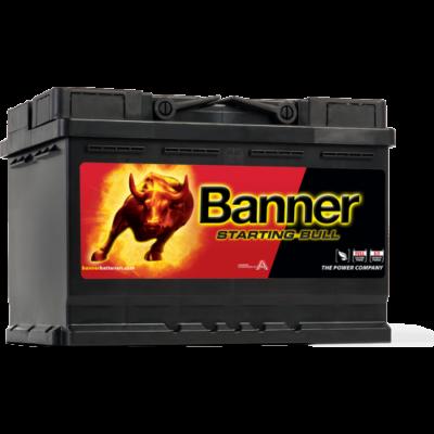 Banner Starting Bull 72 Ah jobb+ 57212 akkumulátor