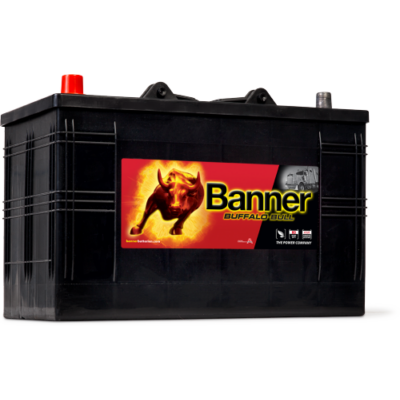 Banner Buffalo Bull 110 Ah bal + akkumulátor 61048
