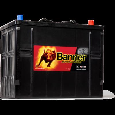 Banner Buffalo Bull 125 Ah jobb + akkumulátor (JCB)