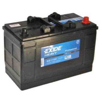 EXIDE 110 Ah jobb+ akkumulátor (IVECO) EG1100