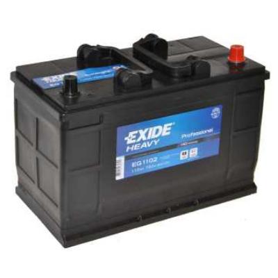 EXIDE 110 Ah jobb+ akkumulátor (IVECO, talpas) EG1102