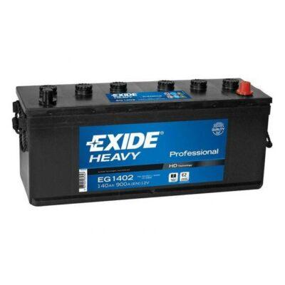 EXIDE 140 Ah jobb + (Landini) akkumulátor EG1402
