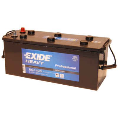 EXIDE 140 Ah bal+ akkumulátor EG1403
