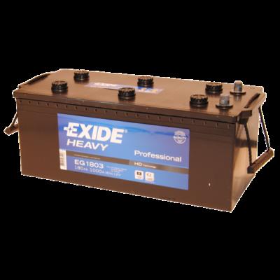 EXIDE 180 Ah bal+ akkumulátor EG1803