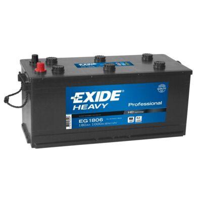 EXIDE 180 Ah jobb+ akkumulátor EG1806