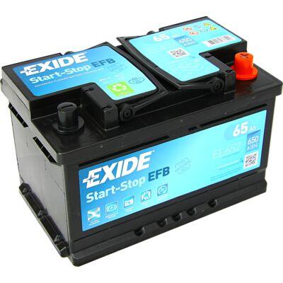 EXIDE Start-Stop 65 Ah jobb+ EL652 akkumulátor