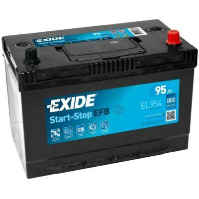 EXIDE Start-Stop 95 Ah jobb+ EL954 akkumulátor