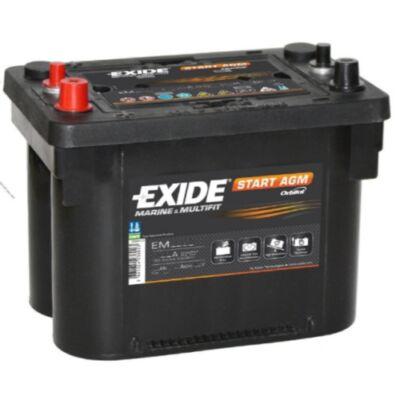 EXIDE Maxxima 50 Ah bal+ EM1000 EM1000 akkumulátor