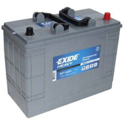 EXIDE 142 Ah jobb+ akkumulátor (JCB) EF1420