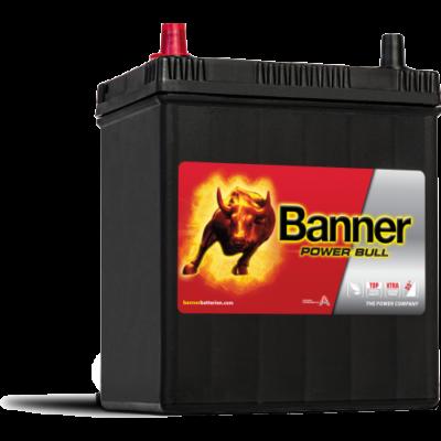 Banner Power Bull 40 Ah bal+ (vékony sarus) P4027 akkumulátor