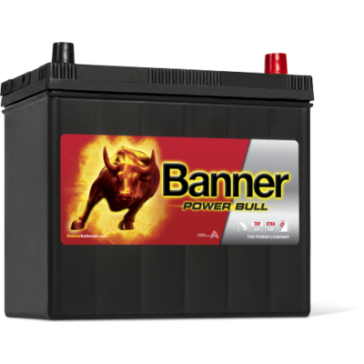 Banner Power Bull 45 Ah jobb+ P4523 akkumulátor