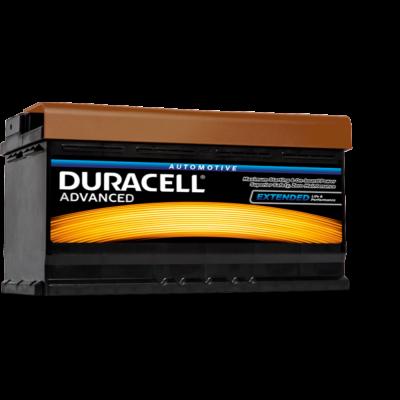 Duracell Advanced 95 AH Jobb+  DA95H akkumulátor