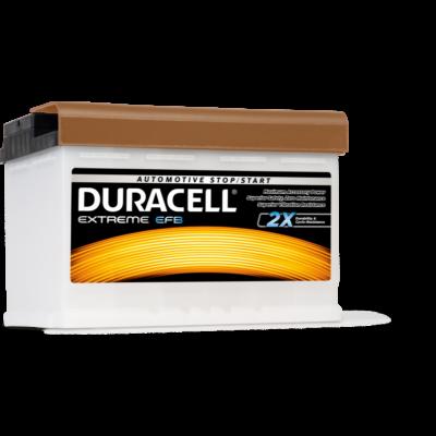 Duracell Extreme EFB 70 AH Jobb+  DE70EFB akkumulátor