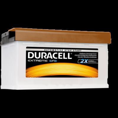 Duracell Extreme EFB 80 AH Jobb+  DE80EFB akkumulátor