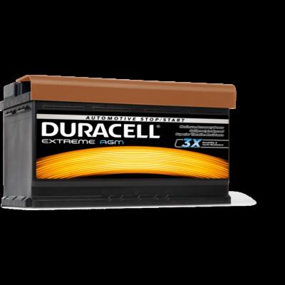 Duracell Extreme AGM 92 AH Jobb+  DE92AGM