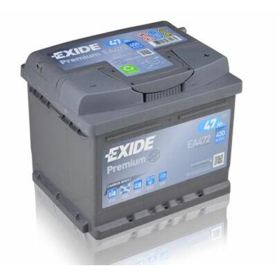 EXIDE Premium 47 Ah jobb+ EA472