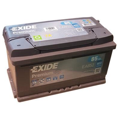 EXIDE Premium 85 Ah jobb+ EA852