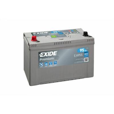 EXIDE Premium 95 Ah bal+ EA955 akkumulátor