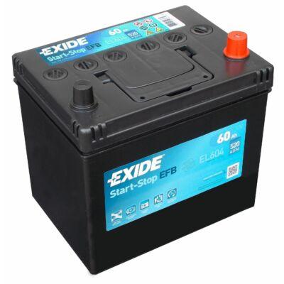 EXIDE Start-Stop 60 Ah jobb+ EL604