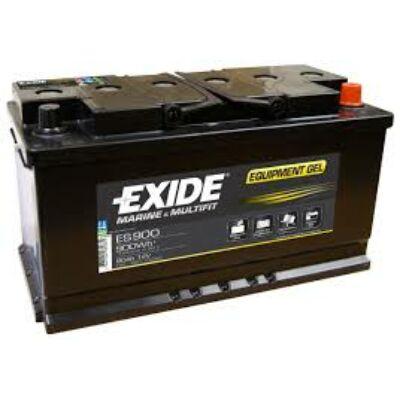 EXIDE GEL 80Ah jobb+ ES900 akkumulátor