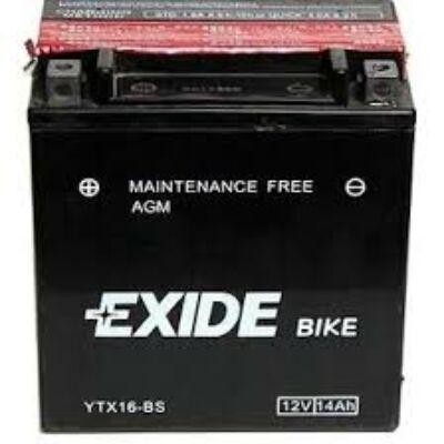 Exide 12V 14 Ah AGM bal+ ( YTX16-BS)