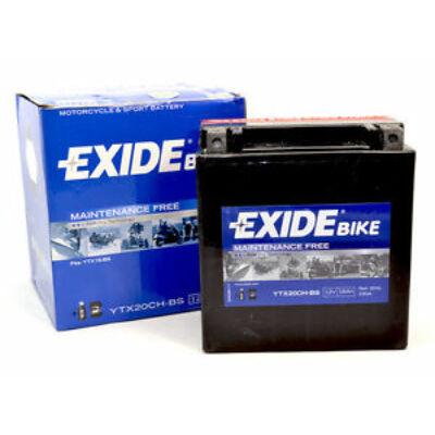 Exide 12V 18 Ah AGM bal+ ( YTX20CH-BS) akkumulátor