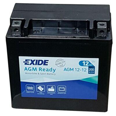 Exide 12V 12 Ah AGM bal+ (AGM 12-12) akkumulátor
