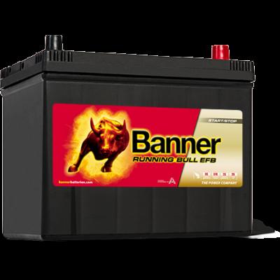 Banner Running Bull EFB 70 Ah jobb+ 57015 akkumulátor