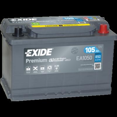 EXIDE Premium 105 Ah jobb+ EA1050 akkumulátor