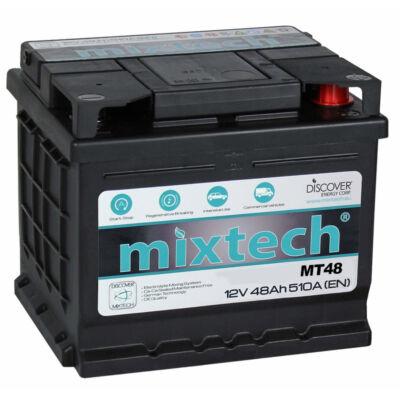 Mixtech MT 48 Ah jobb+ akkumulátor