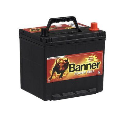 Banner Power Bull 60 Ah jobb+ P6062 akkumulátor
