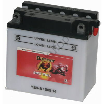 Banner Bike Bull 12 V 9 Ah  ( YB9-B ) akkumulátor