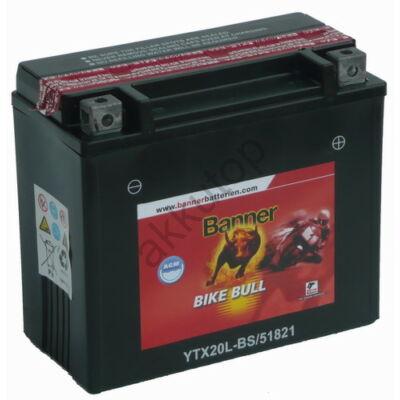 Banner Bike Bull AGM 12 V 18 Ah  ( YTX20L-BS )
