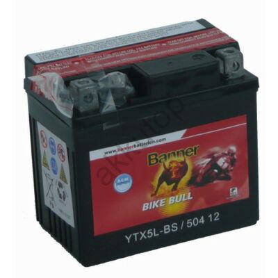 Banner Bike Bull AGM 12 V 4 Ah  ( YTX5L-BS ) akkumulátor